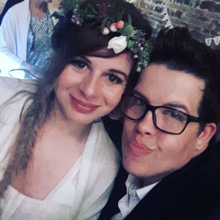 Avec la reine de la soire!  florissa2017 groom weddinghellip